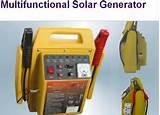 photos of Solar Generator Method