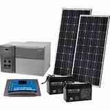 images of Solar Generator Packages