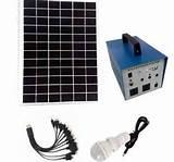pictures of Solar Generator Portable With Panel