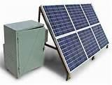 images of Solar Generator Process