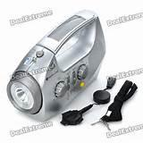 Solar Generator Radio Flashlight pictures