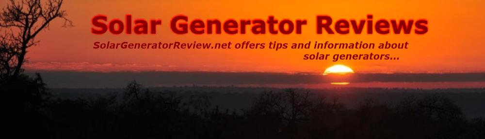 Solar Generator Review